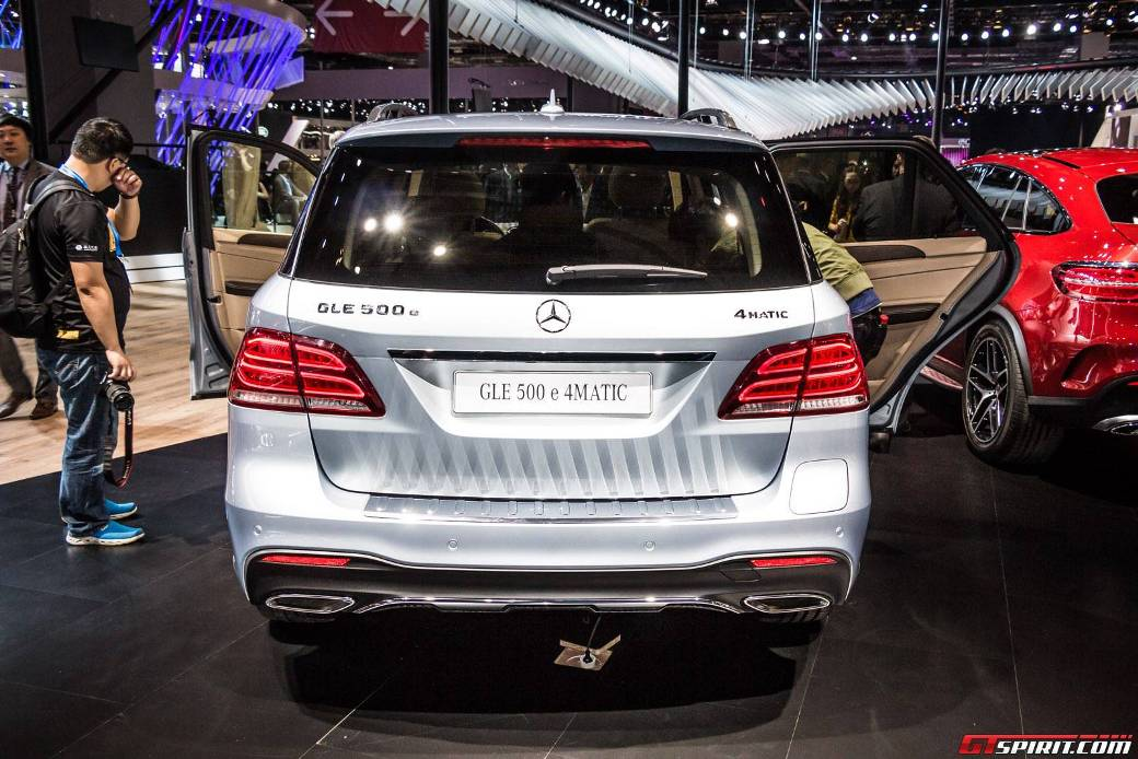 Mercedes-Benz GLE 500e Plug-In Unveiled - BenzInsider.com - A Mercedes-Benz Fan Blog