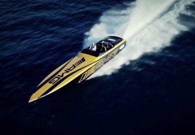 Video Shows Cigarette Racing 50 Marauder GT S Concept In Action