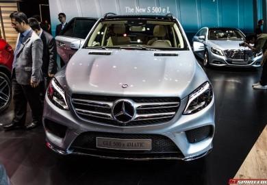Mercedes-Benz GLE 500e Plug-In Unveiled