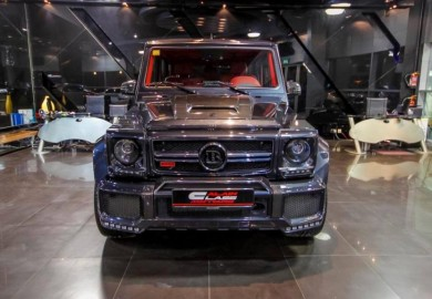Brabus Mercedes G65 800 Displayed At Al Ain Class Motors Showroom