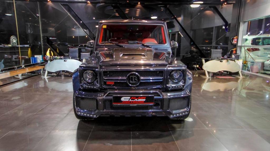 Brabus Mercedes G65 800 Displayed At Al Ain Class Motors ...