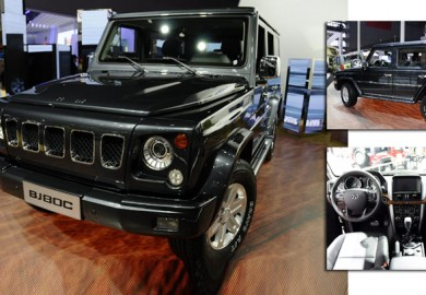BAIC BJ80C Based on Mercedes G-Class