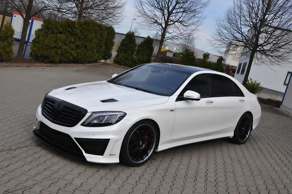 The German Special Customs Mercedes S Class