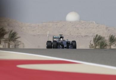 Lewis Hamilton Mercedes F1 2015 Bahrain Grand Prix