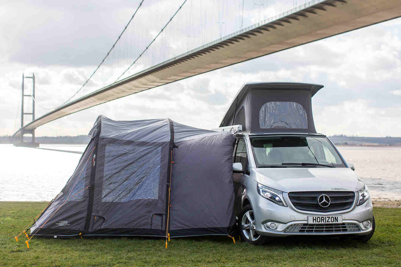 Camper Side View >> Horizon MCV Mercedes Vito Lets You Camp Luxuriously