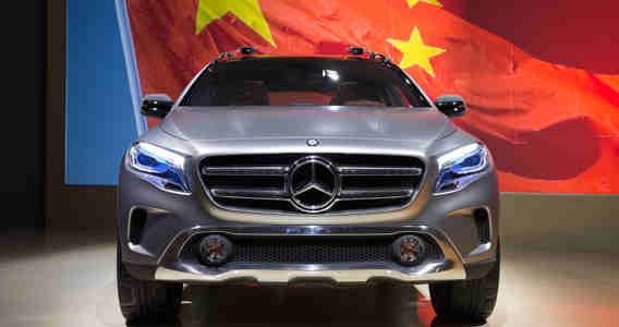 mercedes-benz china