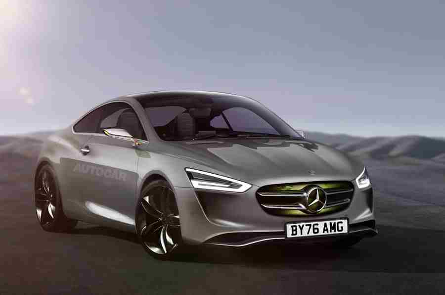 Mercedes Benz Coupe Planned As An Answer To Audi Tt