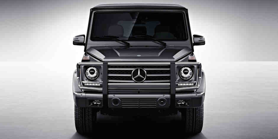 Mid-Range Mercedes-Benz G-Class Gets the AMG GT Engine
