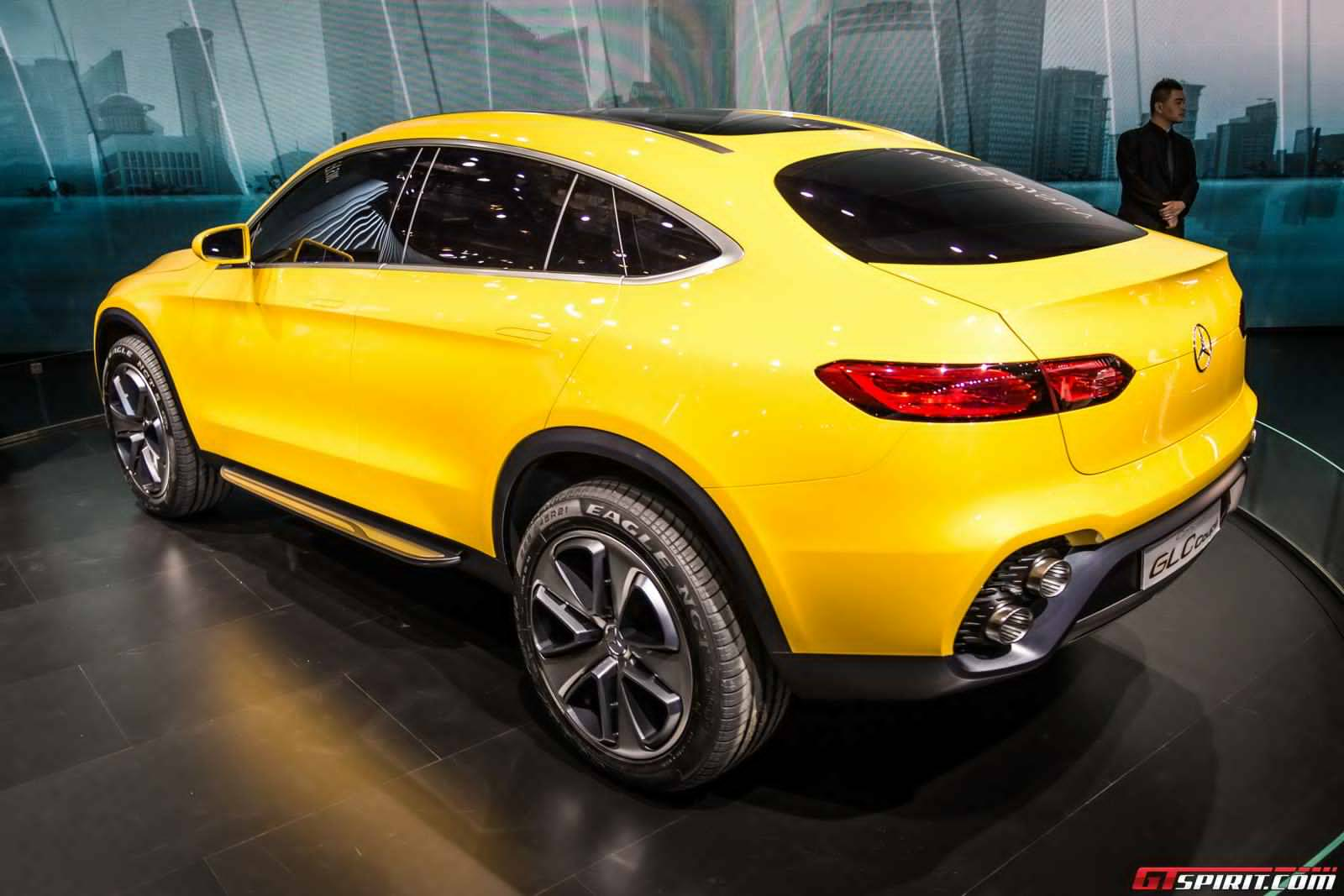 Live photos of the mercedes benz glc coupe concept for Mercedes benz glc for sale