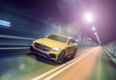 mercedes-benz glc coupe concept photos