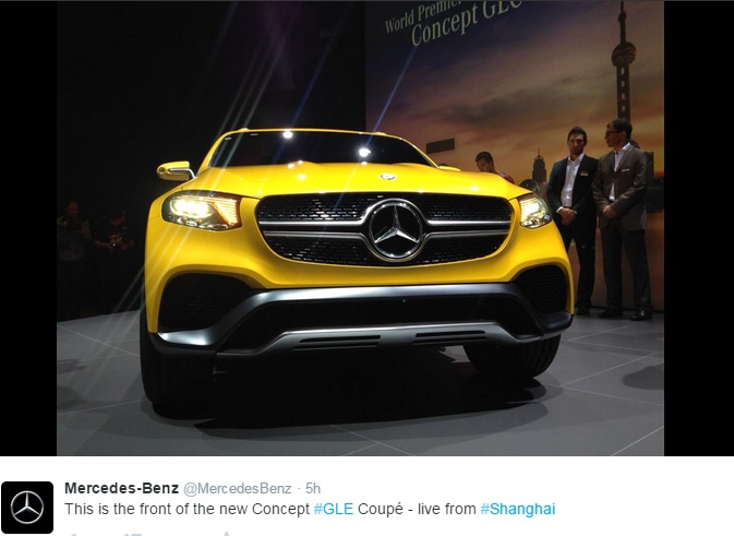 mercedes benz glc coupe concept official images released. Black Bedroom Furniture Sets. Home Design Ideas