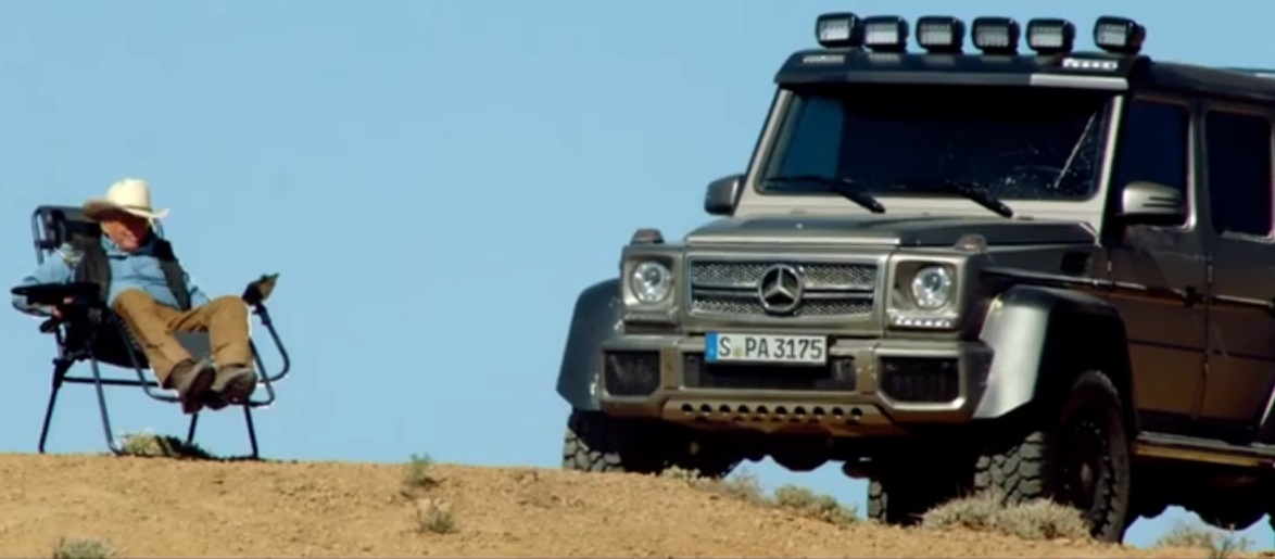 Mercedes G63 Amg 6x6 Is In The New Michael Douglas Movie
