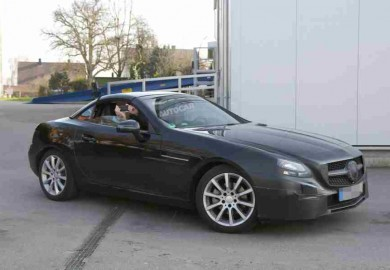 mercedes slc spy shot (2)