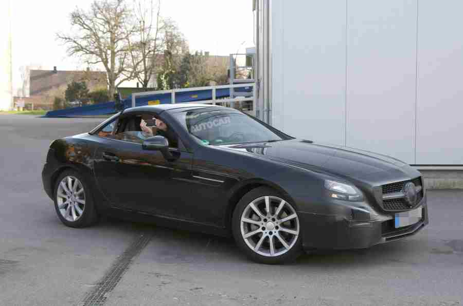 more photos of the mercedes slc surface new powertrain. Black Bedroom Furniture Sets. Home Design Ideas
