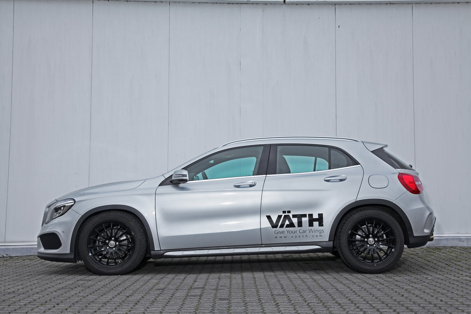 vath releases its new tuning kit for the mercedes gla200. Black Bedroom Furniture Sets. Home Design Ideas