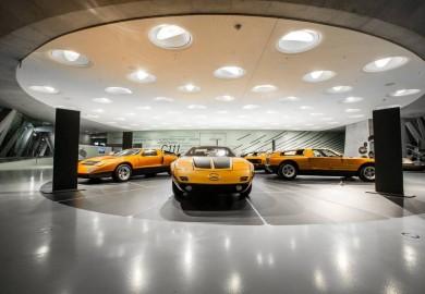 Mercedes-Benz Museum Display Iconic Mercedes-Benz C111