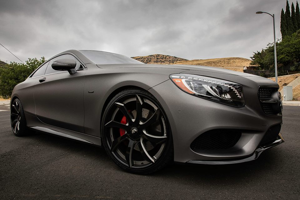 Gunmetal Grey Mercedes-Benz S-Class Coupe Fitted With ...