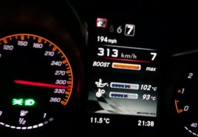 RENNtech-Tuned Mercedes-Benz AMG GT Tops 313 Km/h