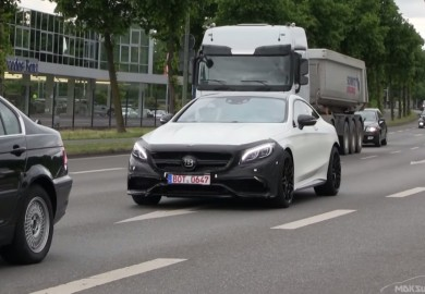 Brabus 850 Mercedes-Benz S63 AMG Coupe Caught On Video Undergoing Testing