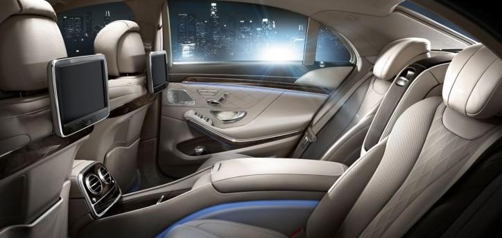 2015 M-B S550 Interior