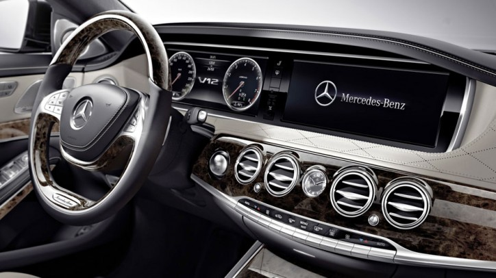 2015 mercedes benz s class s600 sedan dashboard