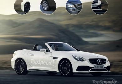 2016 Mercedes-AMG SLC55 Rendered