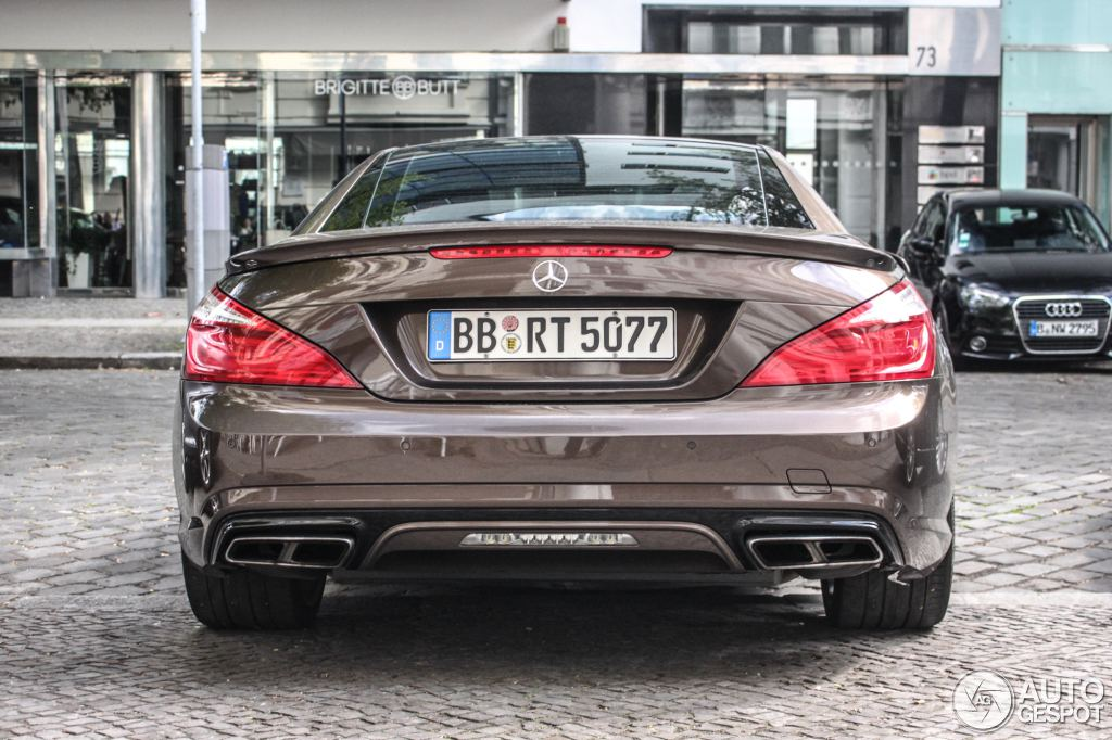 Paint job makes this mercedes benz sl65 amg stand out in for Mercedes benz jobs