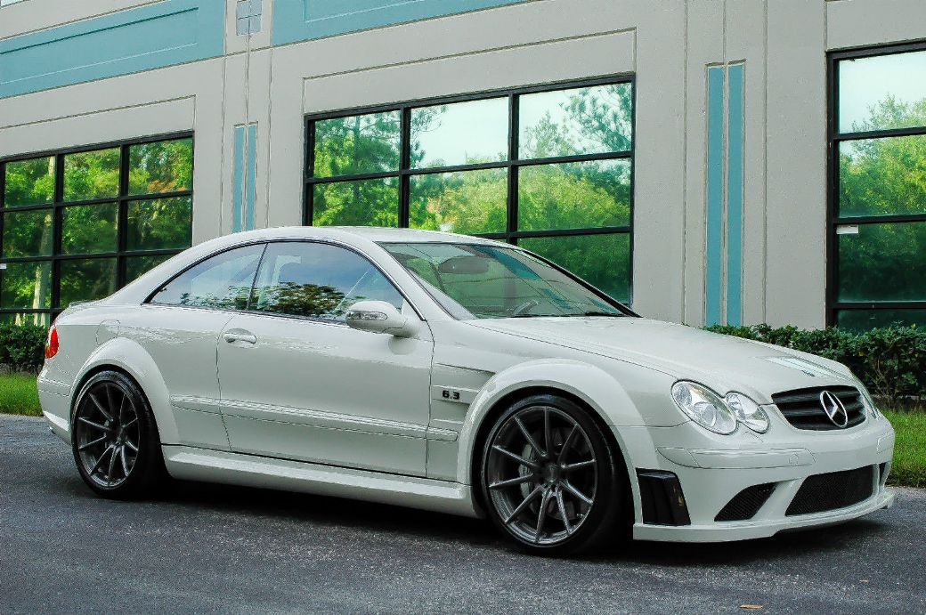 mercedes benz clk 63 amg black series discovered on ebay. Black Bedroom Furniture Sets. Home Design Ideas