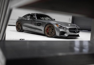 ADV1 Wheels Seen On A Mercedes-AMG GT S