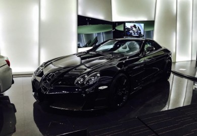 Tuned McLaren Mercedes-Benz SLRs On Display