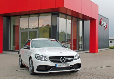 DTE-Systems Tunes Mercedes-Benz C63 AMG