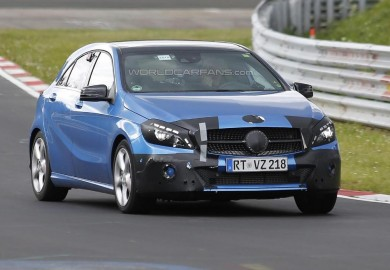 New Spy Shots Of Mercedes-Benz A-Class Emerge