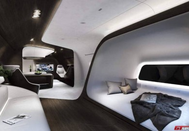 Mercedes-Benz Style To Produce Luxury Interior For Private Jets