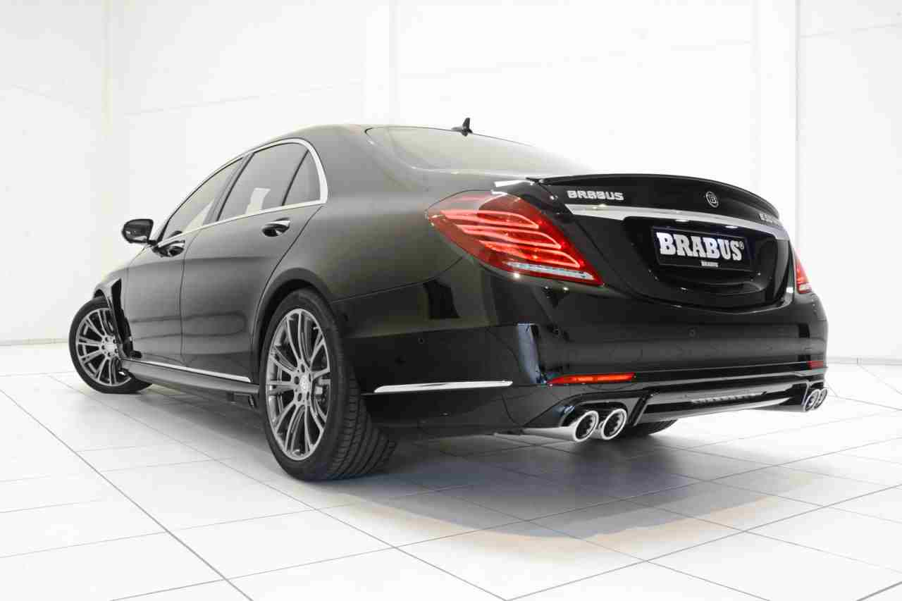 mercedes benz s500 plug in hybrid gets 500 hp from brabus. Black Bedroom Furniture Sets. Home Design Ideas