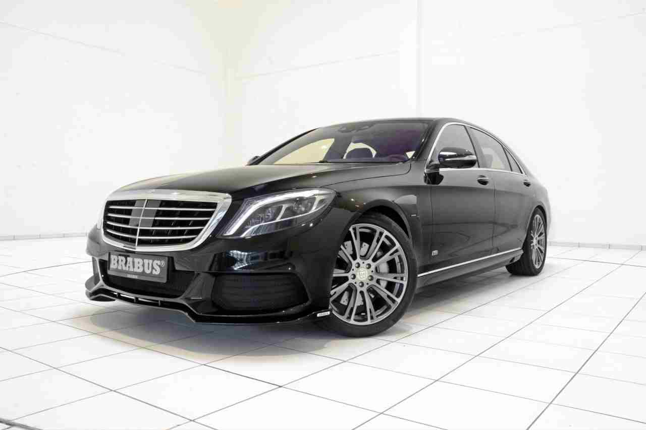 Mercedes benz s500 plug in hybrid gets 500 hp from brabus for 500 hp mercedes benz