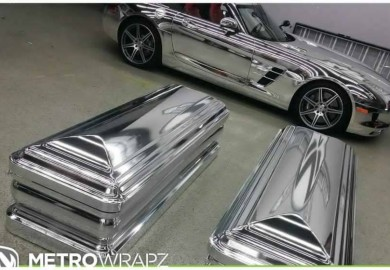 chrome mercedes sls amg