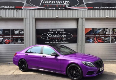 mercedes-benz s-class in purple (1)