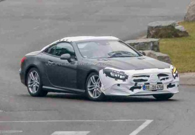 mercedes-benz sl with facelift