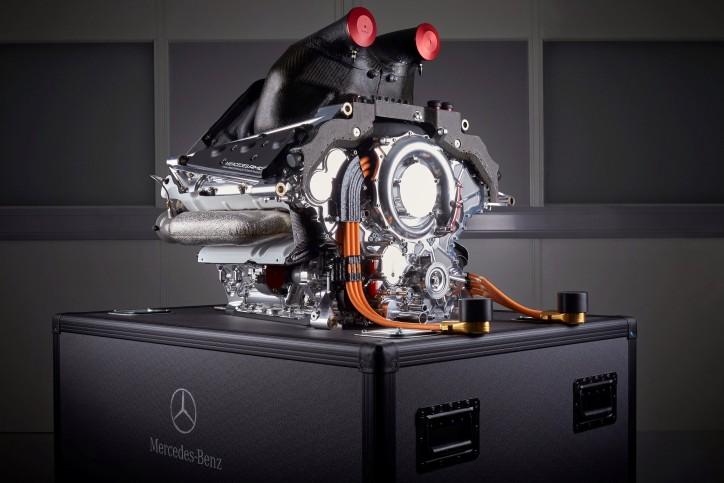 mercedes f1 w06 engine