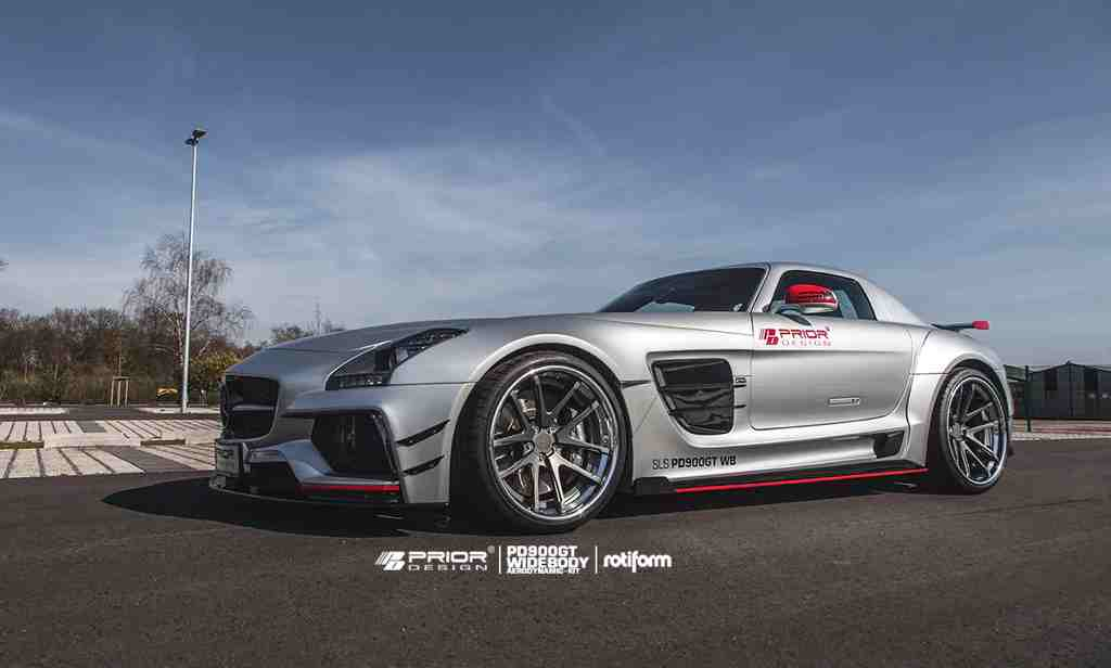 New photos of the prior design mercedes sls amg pd900gt for 2015 mercedes benz sls amg