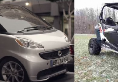 smart fortwo side by side atv