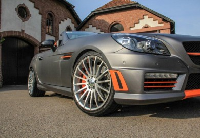 Mercedes-Benz SLK55 AMG Tuned By Carlsson
