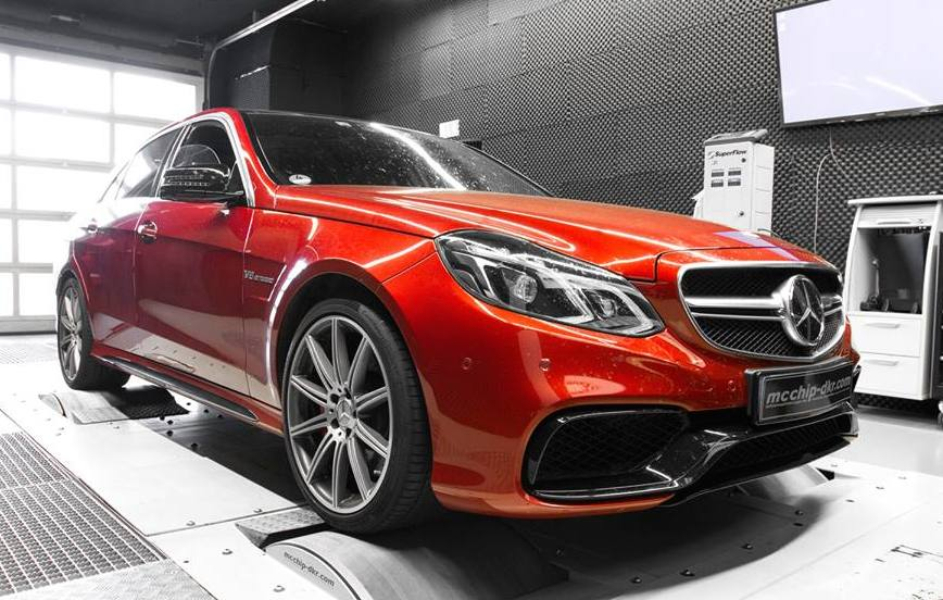 Mercedes-Benz E63 AMG S Gets Power Boost From Mcchip-DKR
