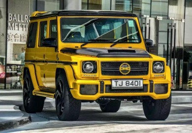 DMC Tunes Mercedes-Benz G-Class