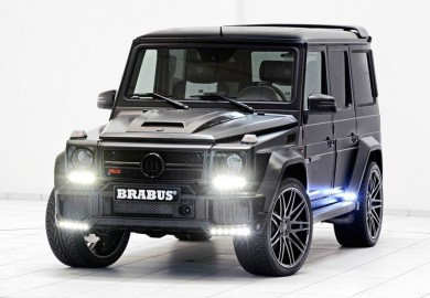 Power Output Of Mercedes-Benz G63 Increased To 700 HP By Brabus