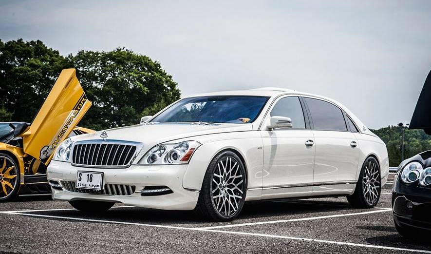 Mercedes B Class Electric >> Office-K Tunes A Mercedes-Benz Maybach 62 S - BenzInsider ...