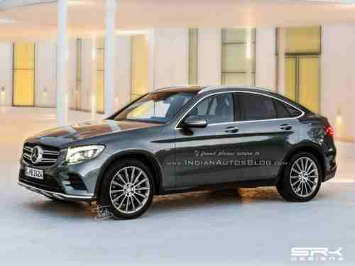 Mercedes Benz Glc Coupe Confirmed For Next Year