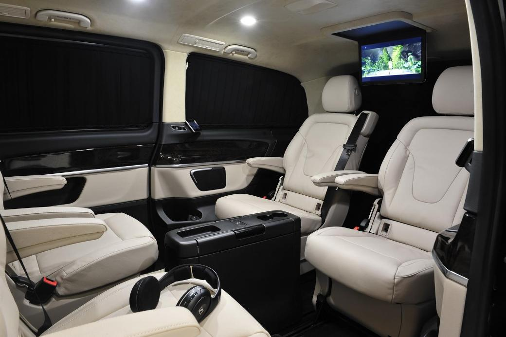tuning kit for mercedes benz v class unveiled by brabus. Black Bedroom Furniture Sets. Home Design Ideas