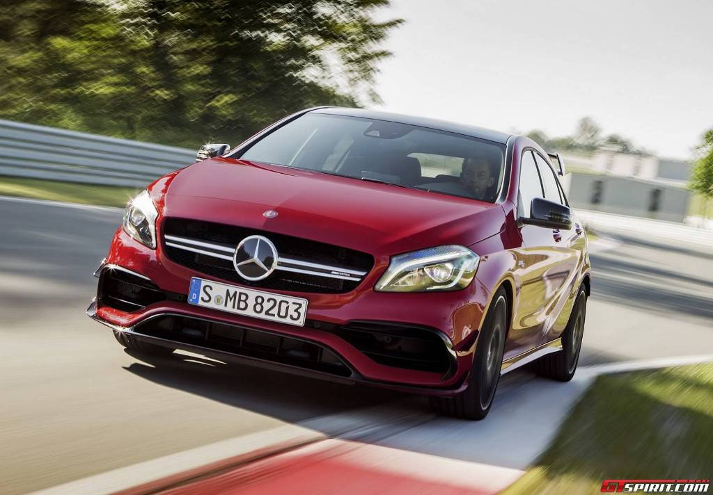 Mercedes-AMG A45 Revealed At The Goodwood Festival Of Speed