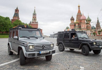 Extreme Adventure For The Mercedes-Benz G-Class With Mike Horn